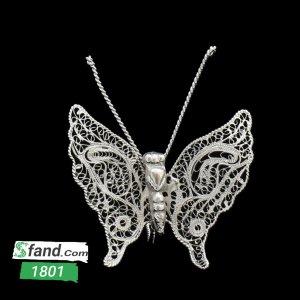 پروانه کوچک ملیله کاری